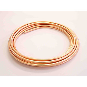 Wednesbury Copper Pipe Plain Coil 10mm x 25m