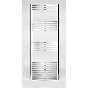 Towelrads Hamilton Chrome Curved Towel Rail 1600mm x 400mm