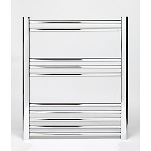 Towelrads Hamilton Chrome Curved Towel Rail 700mm x 400mm