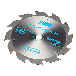Punk Circular Saw Blade 184mm x 12T x 16mm Atb