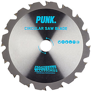 Punk Circular Saw Blade 184mm x 12T x 16mm Fwf