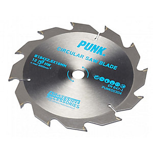Punk Circular Saw Blade 184mm x 24T x 16mm Atb