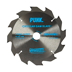 Punk Circular Saw Blade 190mm x 12T x 30mm Atb