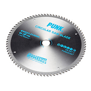 Punk Circular Saw Blade 305mm x 80T x 30mm Atb