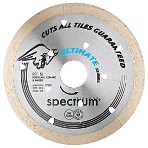 Spectrum Sl 115mm Universal Tile Cutting Diamond Blade