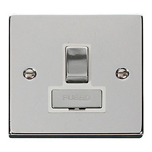 Polished Chrome 13A Switched Fused Spur - VPCH751WH
