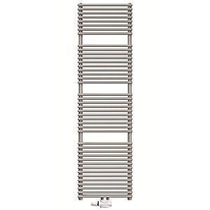 Stelrad Caliente White Single Towel Rail 1199 X 600 Mm 401101600