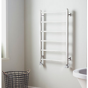 Towelrads Diva Polished Stainless Steel Towel Rail 1200mm x 500mm