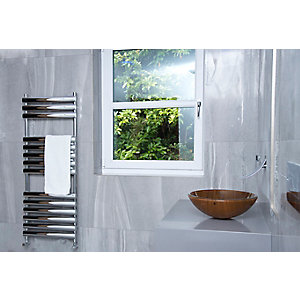 Towelrads Dorney Chrome Towel Rail 1200mm x 500mm