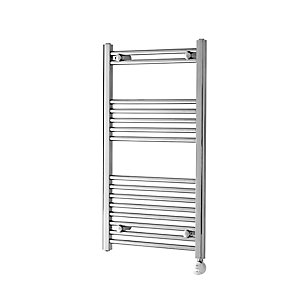 Towelrads McCarthy Chrome Electric Towel Rail 550mm x 500mm