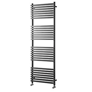 Towelrads Oxfordshire Anthracite Towel Rail 1186mm x 500mm
