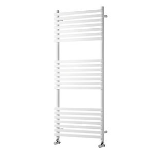 Towelrads Oxfordshire White Towel Rail 1186 mm x 500mm