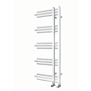 iflo Alayta Chrome Designer Towel Radiator 1200mm x 500mm