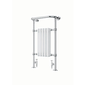 iflo Cereme White/Chrome Designer Towel Radiator 1510mm x 510mm