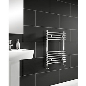 iflo Furnas Designer Towel Radiator Chrome 700 x 500mm