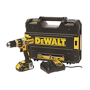 DeWalt 18V XR Brushless Compact Combi Drill with Battery & Case DCD795S1