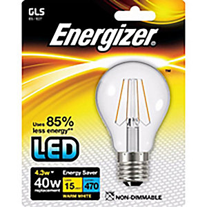 Energizer ES GLS Filament LED Light Bulb - 4.3W