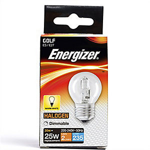 Energizer ES Golf Dimmable Light Bulb - 33W Eco