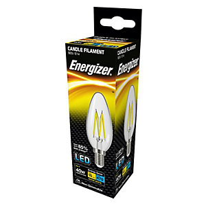 Energizer SES Candle Filament LED Light Bulb - 4W