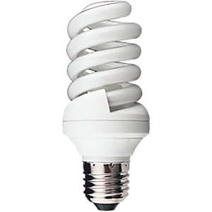 Kosnic ES Spiral CFL Light Bulb - 15W