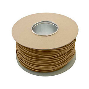 Unicrimp QES4BR 100m x 4mm Earth Sleeving - Brown