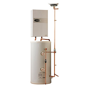 Electric Heating Company Eclipse Electric Boiler Complete with Direct Water Cylinder 12kW 180L
