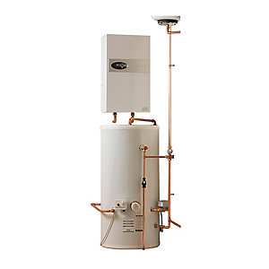 Electric Heating Company Eclipse Electric Boiler Complete with Indirect Water Cylinder 15kW 210L
