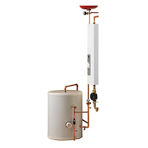 Electric Heating Company SlimJim Compact  Electric Flow Boiler and Direct Cylinder 12kW 180L
