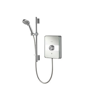 Aqualisa Lme10501 Lumi Electric Shower Satin Chrome 10.5kW