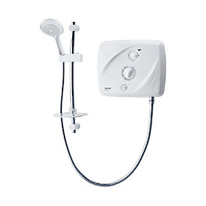 Triton T80SI Electric Shower Pumped White/Chrome 8.5kW SP8P08SI