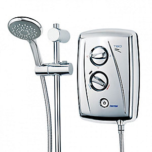 Triton T80Z Fast-fit Electric Shower 8.5 kW Chrome
