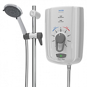 Triton omnicare design 8.5kw electric shower with extended kit