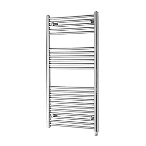 Towelrads Richmond Chrome Electric Straight Towel Rail 691mm x 600mm
