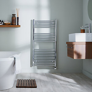 Towelrads Richmond Thermostatic Chrome Towel Rail 691mm x 450mm