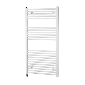 Towelrads Richmond White Electric Straight Towel Rail 1186mm x 450mm