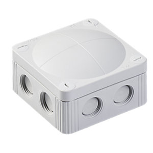Wiska 308/5 Grey Combi IP66 32A Junction Box