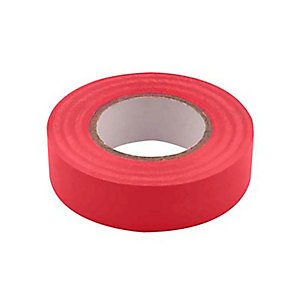 Unicrimp 1933R 19mm x 33m Electricians Tape - Red