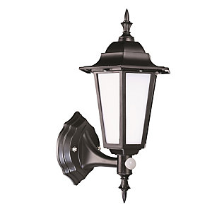 Robus Dingle LED Coach Lantern with PIR 7W Black - RDN00740PIR-04