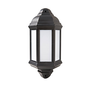 Robus Kerry LED Half Lantern Black 7W - RKE00740-04