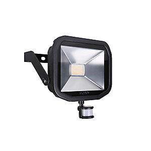 Slimline Guardian 38W Warm White LED Floodlight with PIR - LFSP30B130
