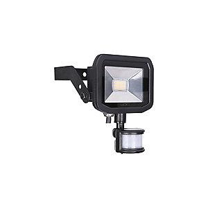 Slimline Guardian 8W Warm White LED Floodlight with PIR - LFSP6B130