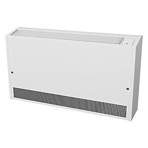 Smith's Caspian LL 120/10 Low Level WaLL Mounted Fan Convector White