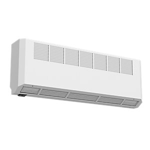 Smith's Ecovector HL 2300 High Level Wall Mounted Fan Convector White