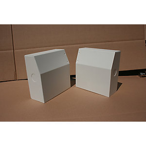 Smith's Sureline Valvecover/ Left Hand Valve Box/End Cap Kit White