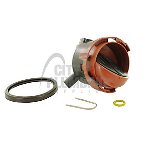 Worcester Bosch 87161164860 Air/Gas Mixing Chamber Assembly
