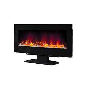"Be Modern Amari 38"" Electric Fire - Black"
