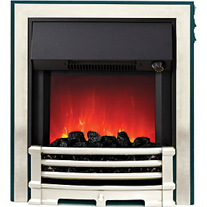 Be Modern Aspen Electric Fire - Chrome