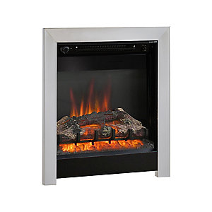 "Be Modern Athena 18"" Inset Electric Fire - Black/Chrome"