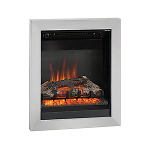 "Be Modern Athena 18"" Inset Electric Fire - Chrome"