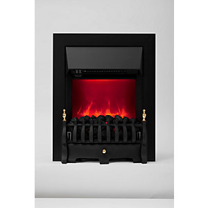 Be Modern Camberley Electric Fire - Black/Coal